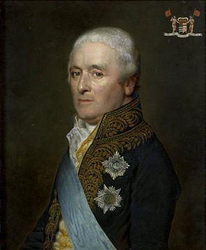 Adriaen Pieter Twent (1745-1816), Graf von Rosenburg. Wasserminister, Innenminister, Sprecher von Kö