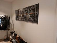 Kundenfoto: AMSTERDAM Herengracht | Panorama von Melanie Viola, auf leinwand