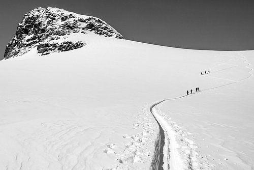 Skitour naar de Jamspitze