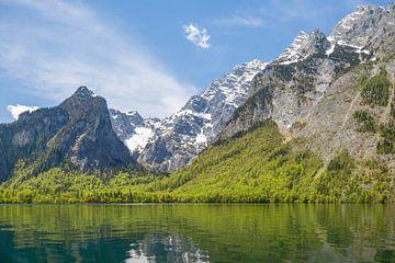 Königssee mit Blick auf die Berge von Sabine Wagner