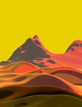 Mooie bergen 7 van Angel Estevez
