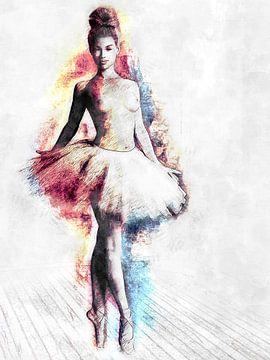 Le ballet au programme sur Arjen Roos