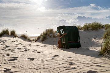 Abendstimmung am Strand von Christoph Schaible