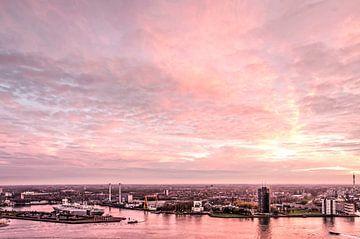 Zonsondergang op Zuid van Frans Blok