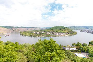 Boppard, der Rhein, Deutschland. von Aukelien Minnema