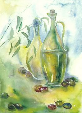 Olivenöl van Jitka Krause
