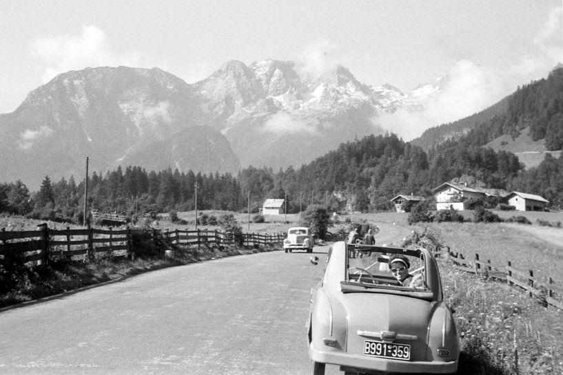De Alpen jaren 50 van Timeview Vintage Images
