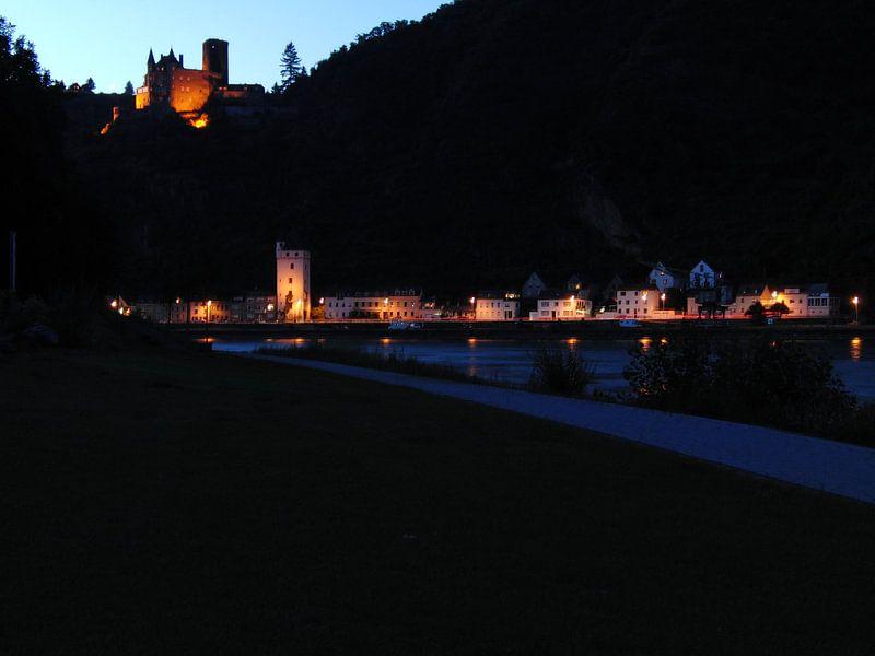 St.Goar by night