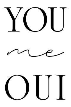 YOU me OUI von Kim Karol / Ohkimiko