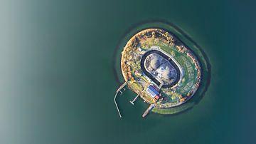 Forteiland Pampus, IJmeer, Nederland van Liset Verberne