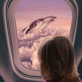 Whale in the sky van Elianne van Turennout
