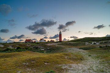 De vuurtoren van Texel van Michel Knikker