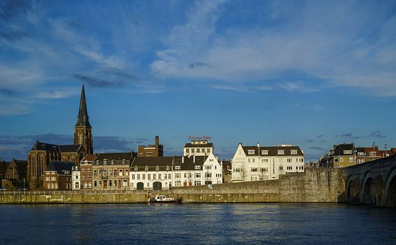 Mestreech - Maastricht - Zicht op Wyck  van Teun Ruijters