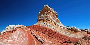 White Pocket Butte in Arizona (USA) van Jan Roeleveld