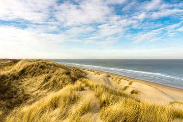 Meer, Strand und Dünen  von Michel van Kooten