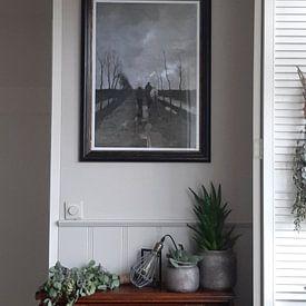 Photo de nos clients: Anton Mauve - A Dutch Road sur Meesterlijcke Meesters, sur poster
