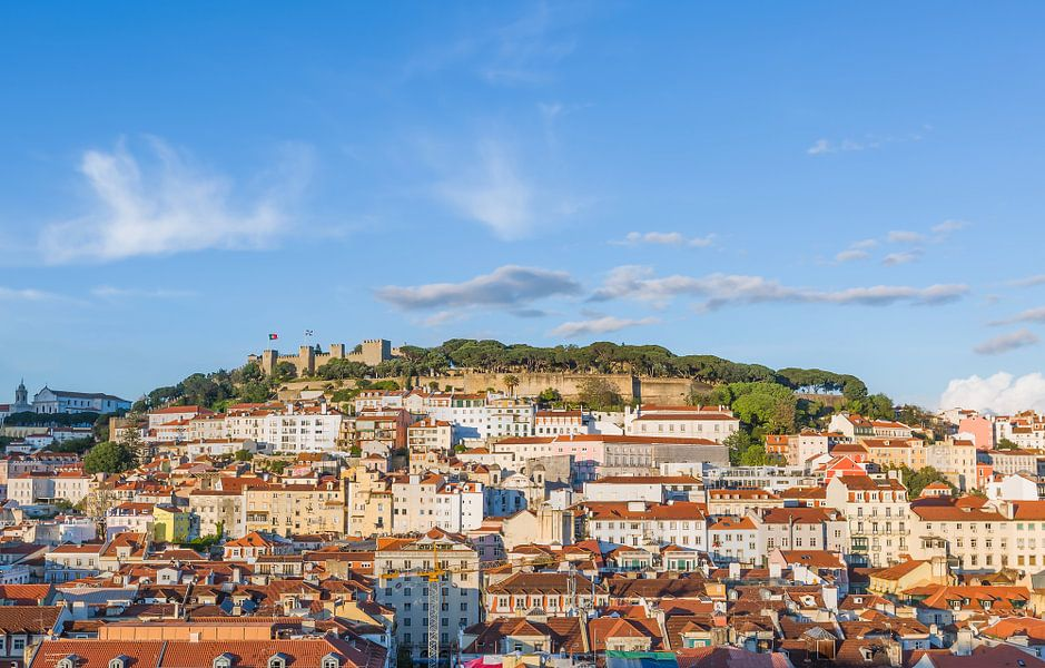 Castelo de São Jorge in Lissabon van MS Fotografie