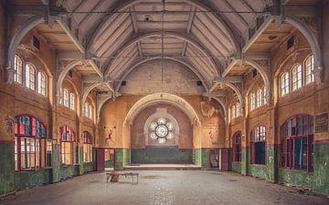 De verlaten Gym van Frans Nijland