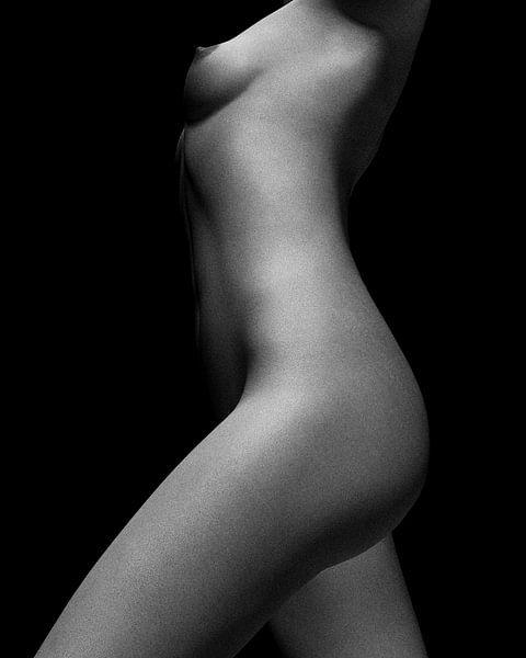 Naakte vrouw – Naakt studie van Jamie No 5 van Jan Keteleer