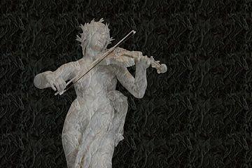 Vioolspeelster van Roelof Broekman