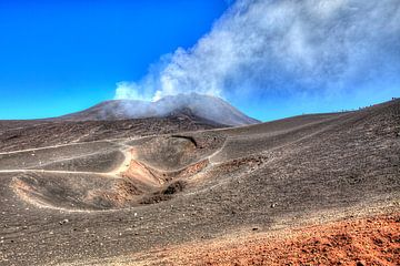 Etna vulkaan van x imageditor