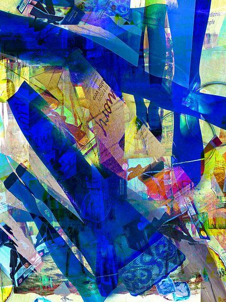 Blue legs von Gabi Hampe