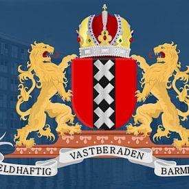 Het wapen van Amsterdam  van Felagrafie .