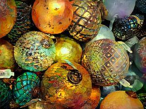 Kerstballen van Rein Bijlsma
