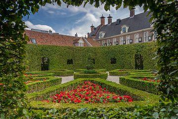 Foto in de Prinsentuin in het centrum van Groningen stad van Vincent Alkema