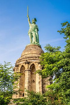 Het Hermann-monument bij Detmold van Günter Albers