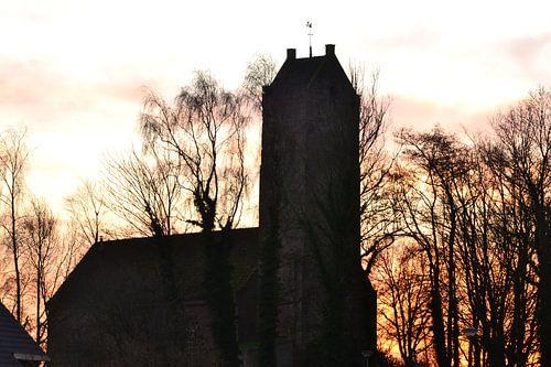 Oude Kerk, St Vitus, Doezum, Groningen, Nederland