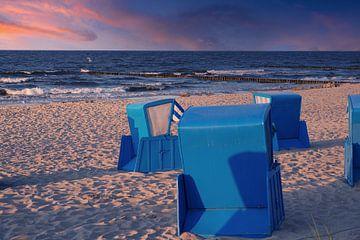 Abendstimmung an der Ostsee von Martina Fornal