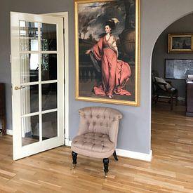 Kundenfoto: Jane Fleming, later Countess of Harrington, Sir Joshua Reynolds von Meesterlijcke Meesters