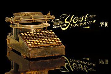 Schreibmaschine Yost Modell 10 van