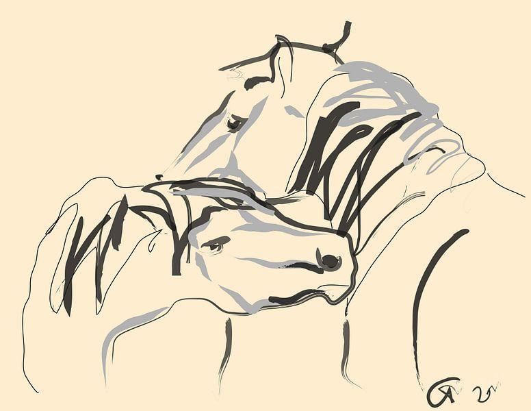 Paarden Together 4 van Go van Kampen