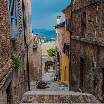 Italiaans doorkijkje van