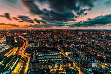 Den Haag Zonsondergang van