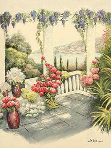 Mediterrane Terrasse von Marita Zacharias