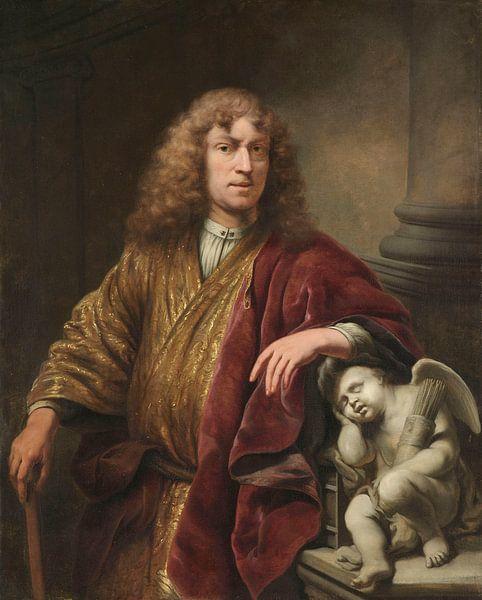 Selbstbildnis, Ferdinand Bol, ca. 1669 von Marieke de Koning