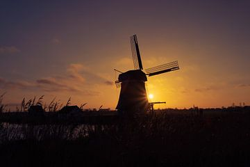 Windmühle De Woudaap von Erik Lenderink