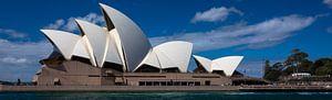 Sydney Operahuis Panorama van Tessa Louwerens