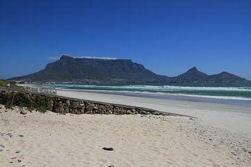 Kaapstad en de Tafelberg van Jan Roodzand