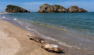 Strand aan Zwarte Zee, Turkije van Daan Kloeg
