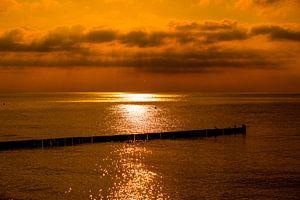 Glühender Sonnenuntergang, Gloeiende zonsondergang
