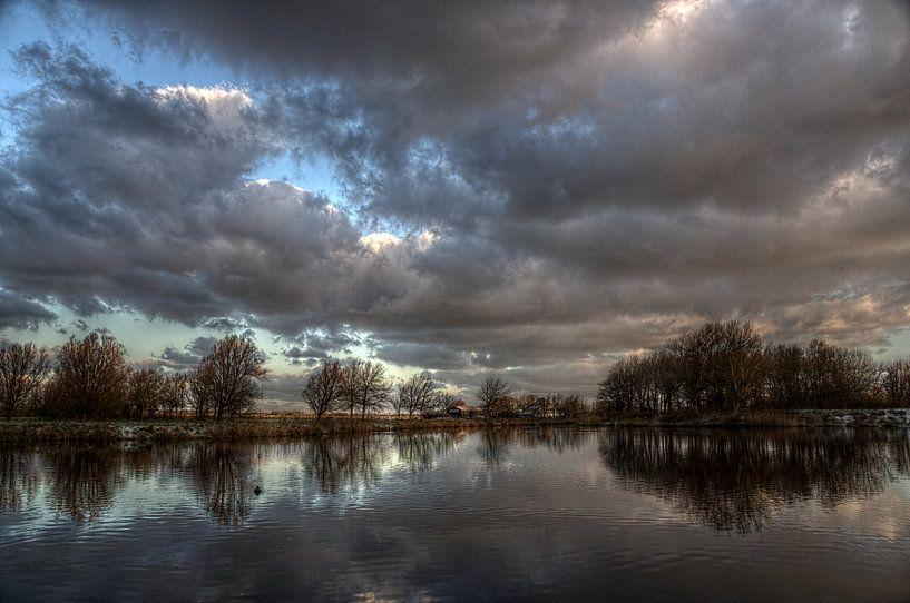 Winter in het park van Mike Bing
