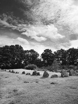 Dolmens at Lindeskov Hestehave, Ørbæk, Denmark van Jörg Hausmann
