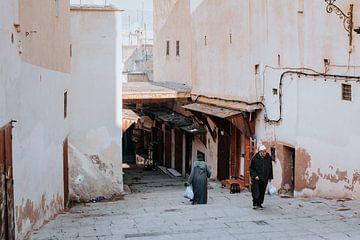Stadsgezicht van Fez