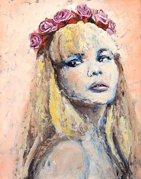 Blonde Rose von Anouk Maria van Deursen