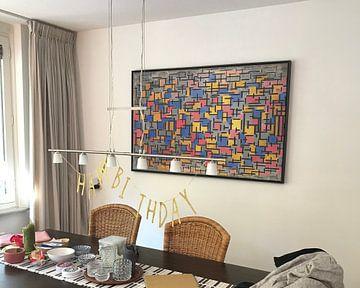 Kundenfoto: Piet Mondriaan. Compositie