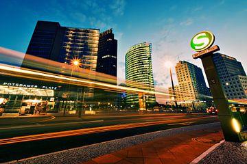 Berlin - Potsdamer Platz Skyline von Alexander Voss